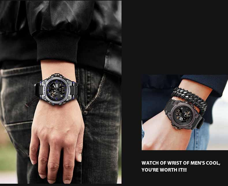 men's led watches