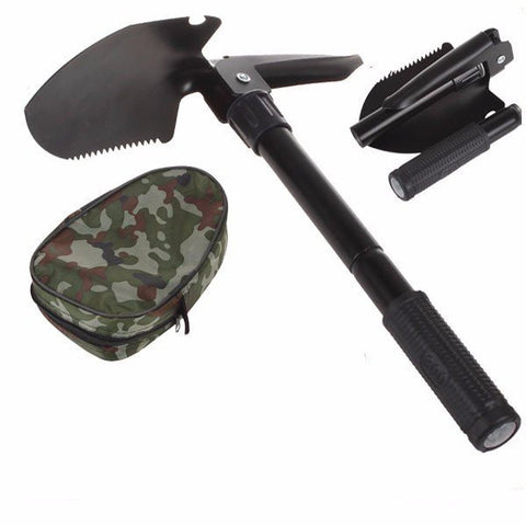 Multi-function Military Portable Folding Survival Shovel