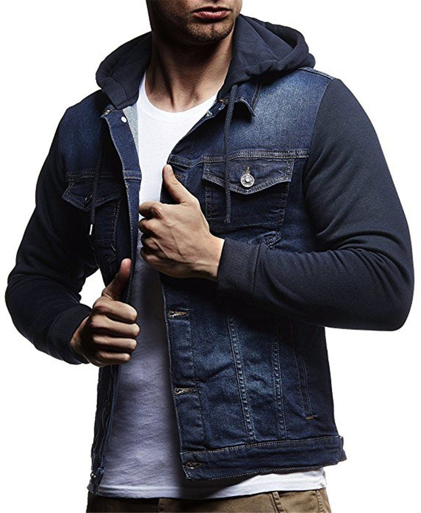 Helisopus Fashion Denim Hoodies Jackets