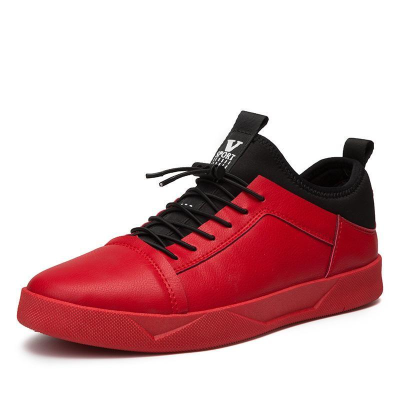 Red shoes for men