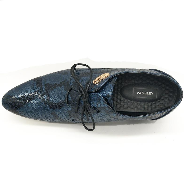 men oxford pointed shoes