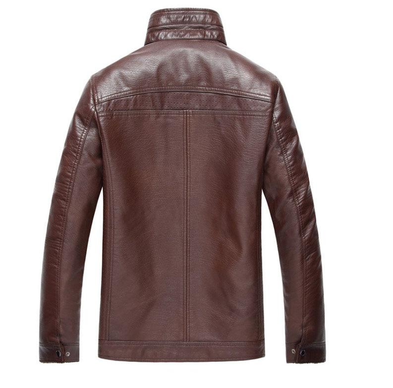 ZOQ Thick Leather Jackets