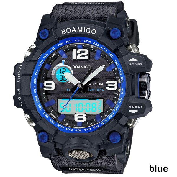 Digital LED sports Quartz watches (5 colors)