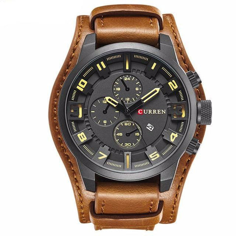 CURREN Luxury Business Quartz Watch
