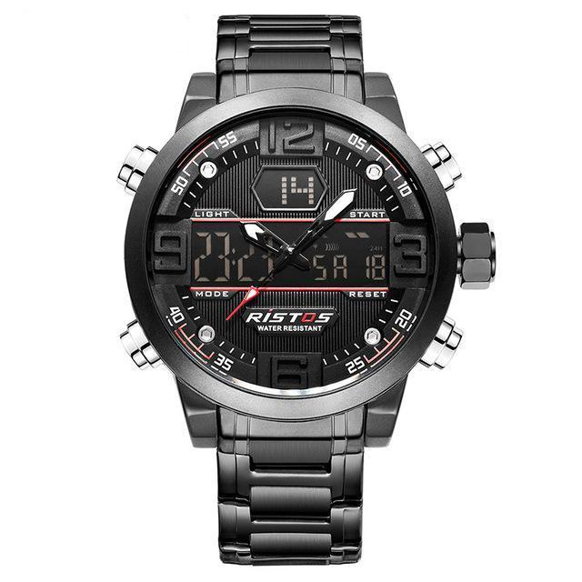 steel sport watches
