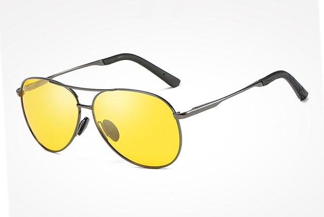 BANNED 1976 Anti-Glare Pilot Night Vision Sunglasses
