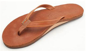 Rainbow Sandal - Womens - Premier/Classic - Classic Tan Brown - Thunderbird SUP