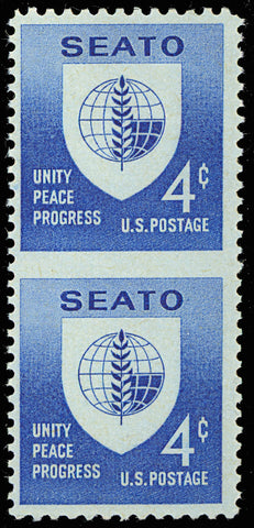 1151a 4 Cent Imperforate Between MAJOR ERROR - SEATO