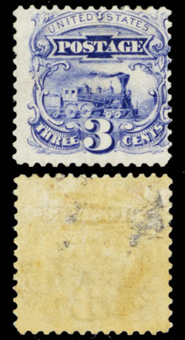 125, Mint OG 3¢ REISSUE - Very RARE Stamp With PFC Cat $5,000.00