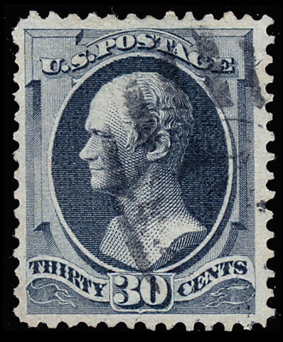 165 Used 30¢ - VF With Excellent Color - Light Cancel