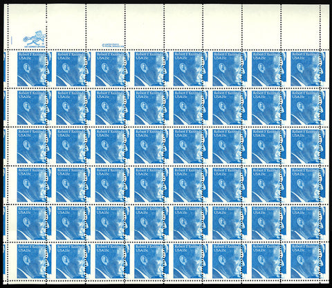 1770 Complete Misperforated ERROR Sheet of 48 - 15¢ Robert Kennedy