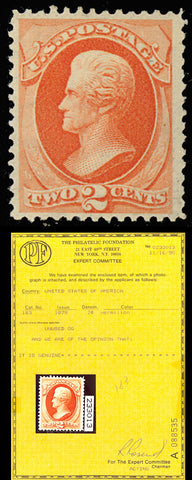 183 Mint VF-XF OG NH With Philatelic Foundation Certificate