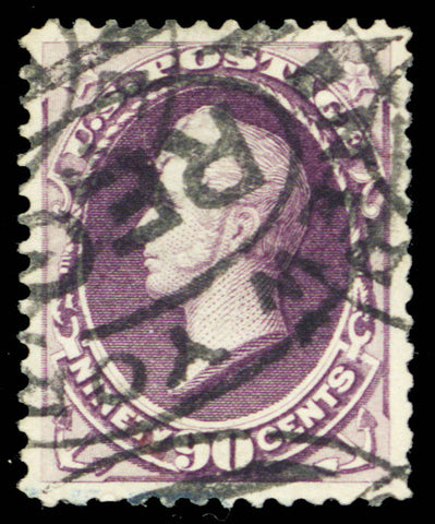218, Used 90¢ VF With Large Margins - Comes With PSE Certificate