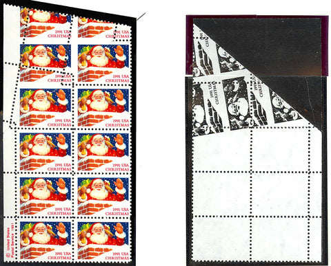 2579, MNH - AMAZING PAPER FOLD ERROR MAKES FOR WILD PERFORATIONS