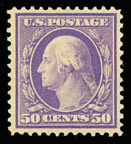 341, Mint NH 50c - VF-XF STAMP - RARE Never Hinged Stamp!