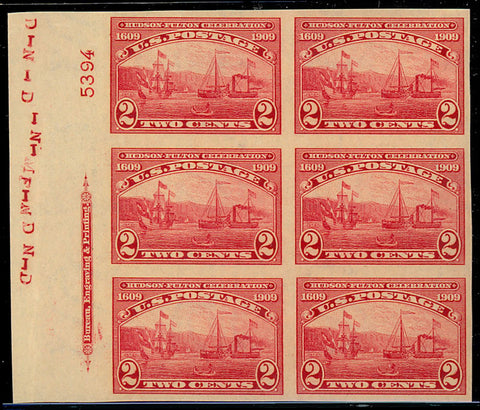 373 Side Plate Block of Six - SUPERB NH