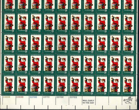 1472, COMPLETE SHEET OF 50 WITH LARGE COLOR SHIFT ERROR
