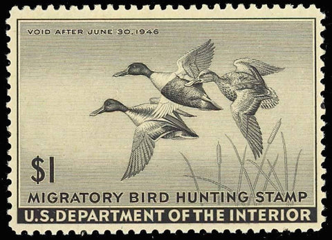 RW12, Mint DUCK STAMP - VF-XF OG NH - P.O. FRESH!