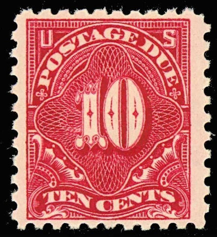 J56, Mint 10c Postage Due - VF OG NH - VERY FRESH! Cat $240.00