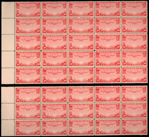 C22 VF-XF NH Lot of 40 Stamps VF-XF NH Cat $440.00