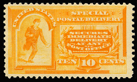 E3 Mint 10¢ Special Delivery Stamp VF OG LH Cat $300.00