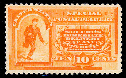 E3 Mint 10¢ Special Delivery - VF-XF OG LH Very Fresh