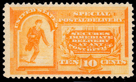 E3 Mint 10¢ Special Delivery - VF OG Small HR Cat $300.00