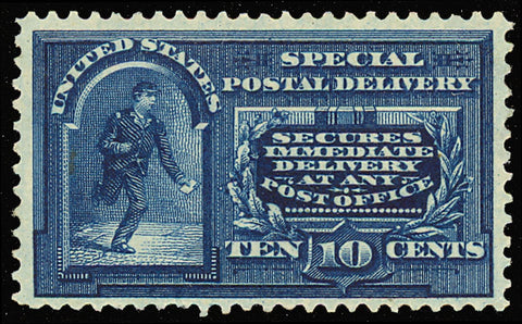 E5 Mint 10¢ Special Delivery Stamp VF-XF OG LH Cat $210.00