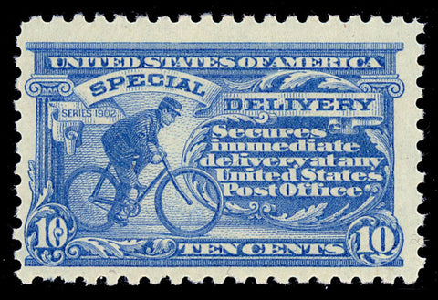 E9 Mint 10¢ Special Delivery - F/VF OG NH Cat $425.00