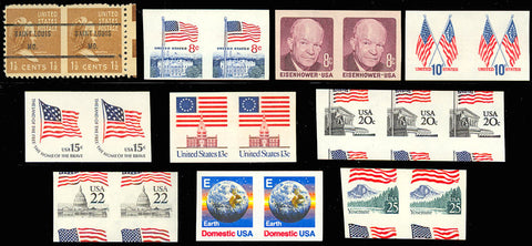 Imperforate ERROR Collection - 10 Different! Mint NH Cat $278.00+