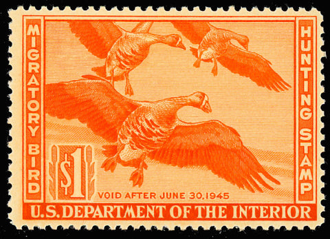 RW11 Mint $1 DUCK Stamp - VF OG NH