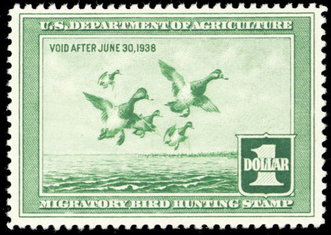 RW4, Mint VF NH DUCK Stamp With PSE Cat $275.00+