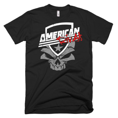 American Rivals Skull Short sleeve men's t-shirt