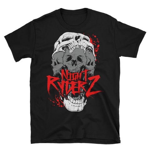 Crazy Skulls Short-Sleeve Unisex T-Shirt