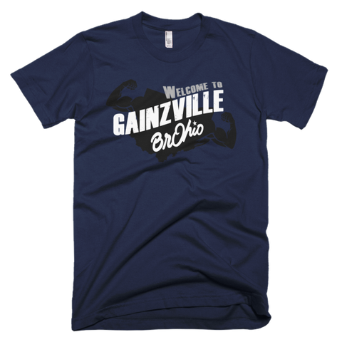 Welcome to Gaizville Short sleeve men's t-shirt