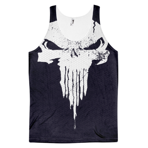 Train Like A Vigilante! Classic fit tank top (unisex)