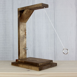 Tabletop Hook and Ring Toss Game