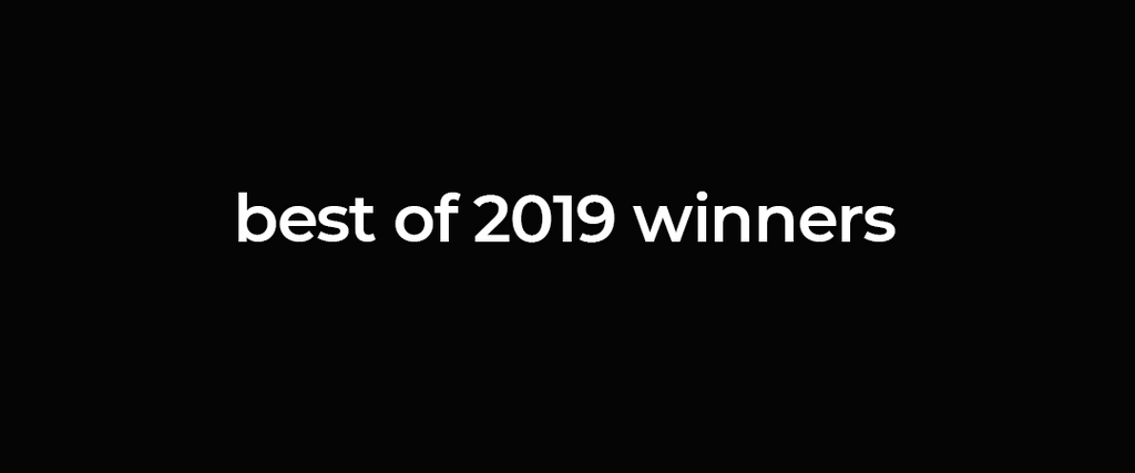 Best of 2019 winners