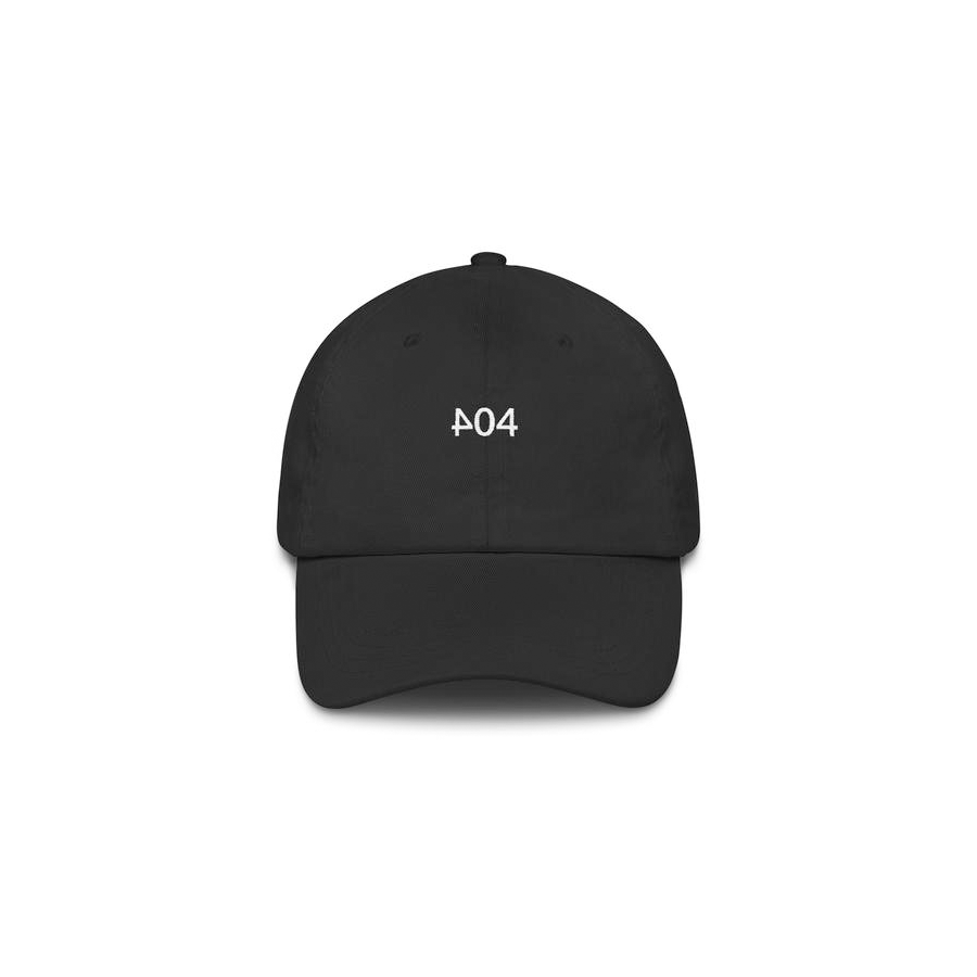 404 v.1 / 6 panel hat (in-house)
