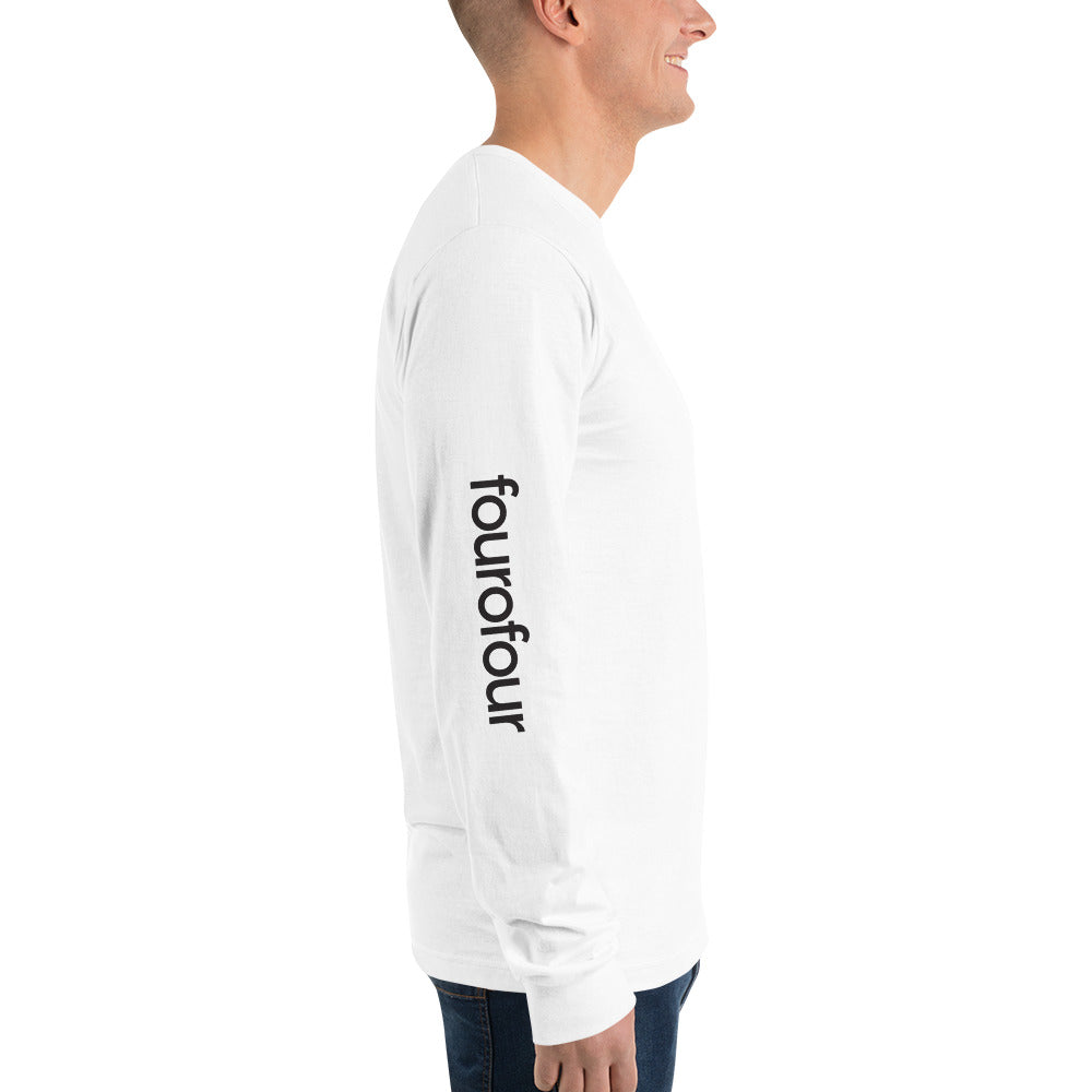 fourofour v.1 / white sleeve print