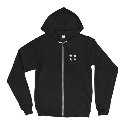 4 Star / Flex Fleece Zip Hoodie