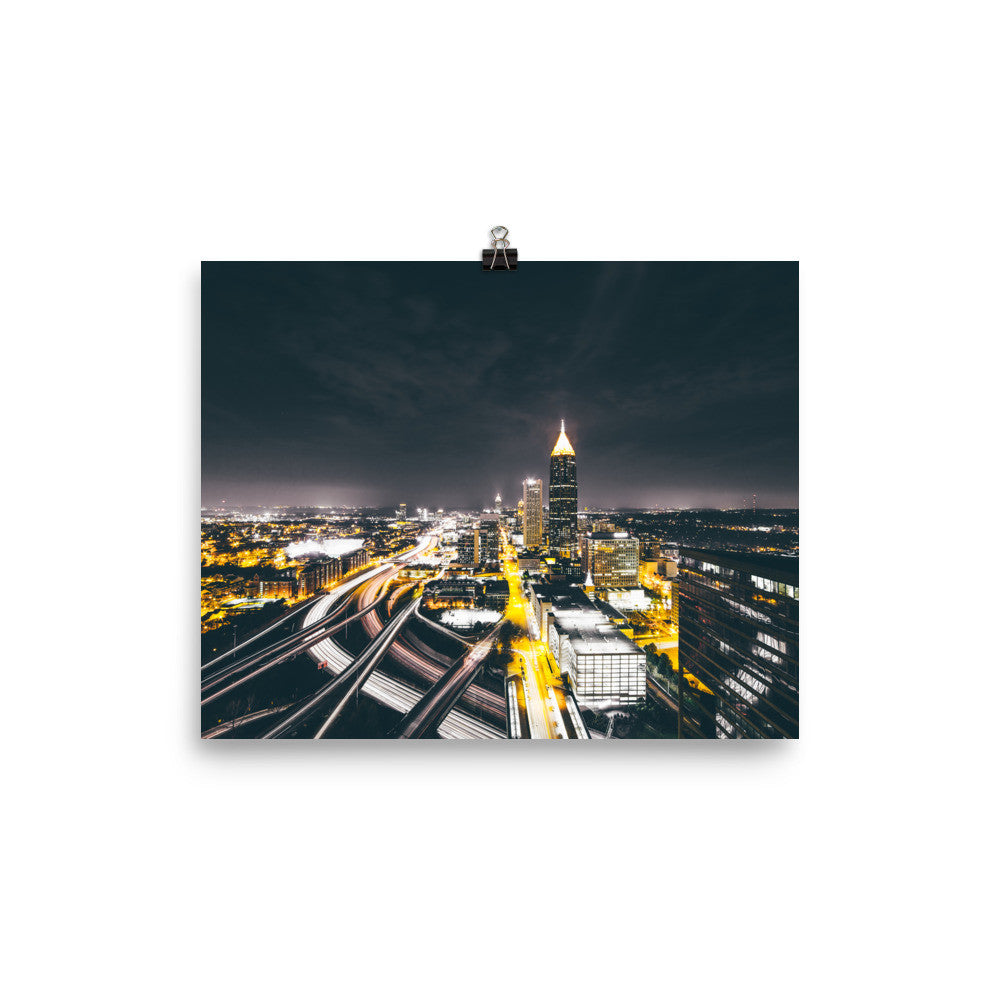 Bright Lights / Poster Print