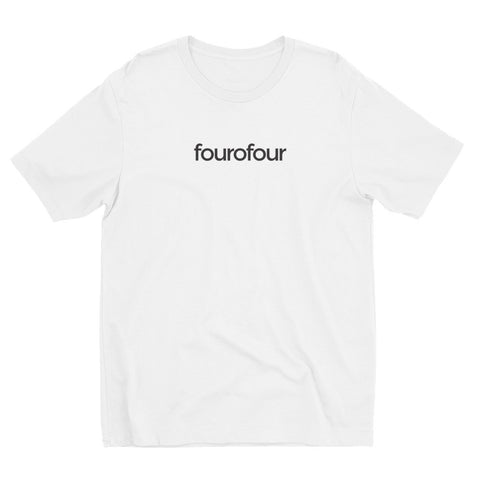 fourofour v.1 / Short Sleeve white