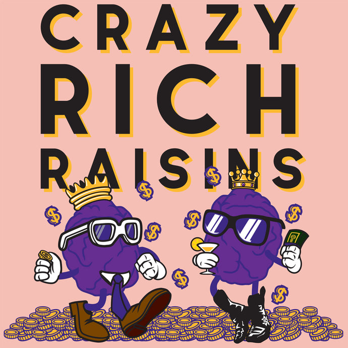Behind The Design - Crazy Rich Raisins
