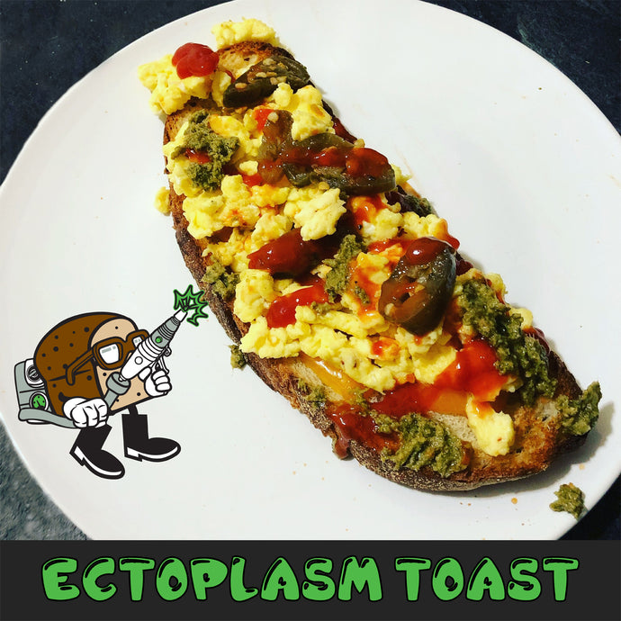 Cine-Munchies - Ectoplasm (a.k.a. Ghost Slime) Toast