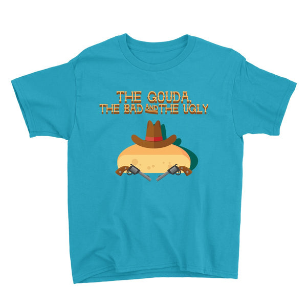 Movie The Food - The Gouda, The Bad, The Ugly Kid's T-Shirt