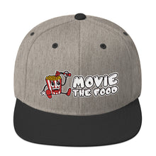 Load image into Gallery viewer, Movie The Food - Logo Snapback - Heather/Black