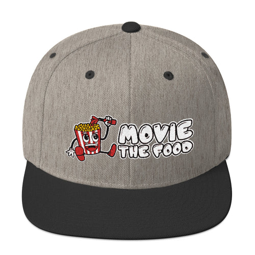 Movie The Food Logo Snapback Heather/Black