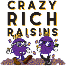 Load image into Gallery viewer, Movie The Food - Crazy Rich Raisins - Design Detail