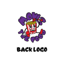 Load image into Gallery viewer, Movie The Food - Crazy Rich Raisins - Back Logo Detail